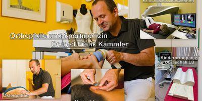 Dr.med.Frank Kämmler, Praxis für Orthopädie und Sportmedizin in Schwerin in Mecklenburg