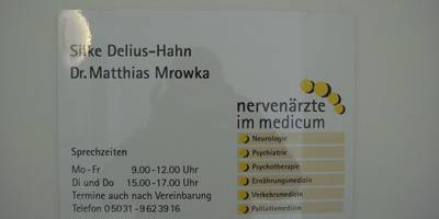 Delius-Hahn Silke , Mrowka Matthias Dr. Ärzte für Neurologie in Wunstorf