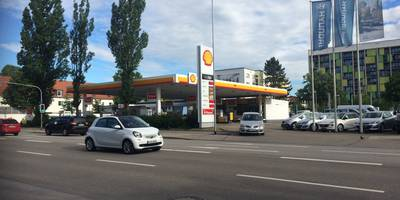 Deutsche Shell AG Stationen in Ingolstadt an der Donau