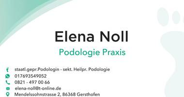 Noll Elena Med. Fußplege-Podologische Praxis in Gersthofen