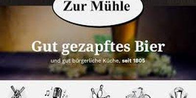 Alois Petrausch Gaststätte Zur Mühle in Lüdinghausen