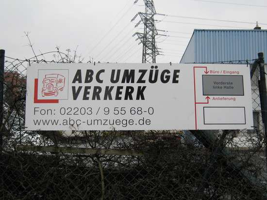 abc umz ge verkerk gmbh 48 bewertungen k ln gremberghoven welserstr golocal. Black Bedroom Furniture Sets. Home Design Ideas