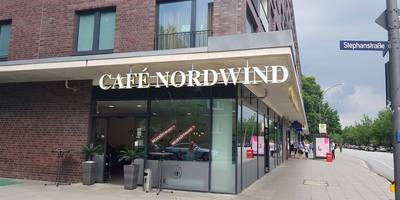 Café Nordwind in Hamburg