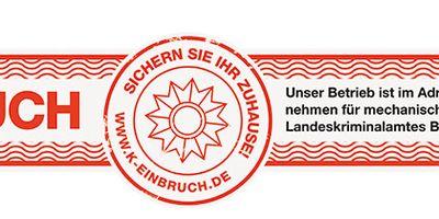 Buchfink Einbruchsicherungen in Mannheim