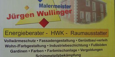 Malermeister Wullinger Jürgen in Burglengenfeld