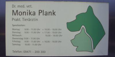 Plank Monika Dr. prakt. Tierärztin in Burglengenfeld