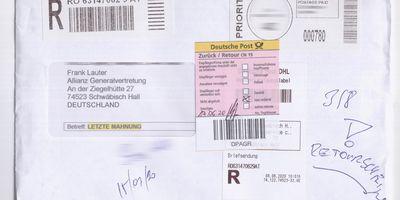 Allianz-Generalvertretung Frank Lauter Versicherungsagentur in Schwäbisch Hall