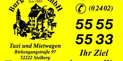 Burg Taxi GmbH in Stolberg im Rheinland