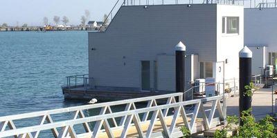 Schwimmendes Ferienhaus/ Floating Home/ Hausboot ANTARES ONE in Kappeln an der Schlei