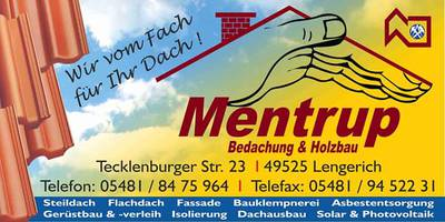 Mentrup Bedachung & Holzbau GmbH in Lengerich
