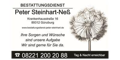 Bestattungsdienst Peter Steinhart-Neß in Günzburg