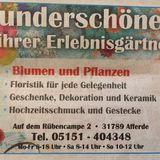 Vollmer Gartenland Blumenfachgeschäft in Afferde Stadt Hameln