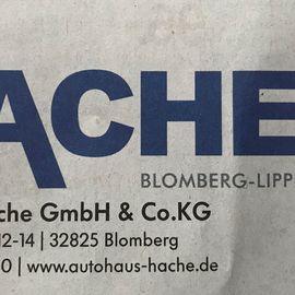 Hache Hermann GmbH & Co. KG in Blomberg Kreis Lippe