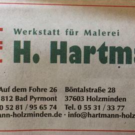 Hartmann Heiko Malermeister in Holzminden