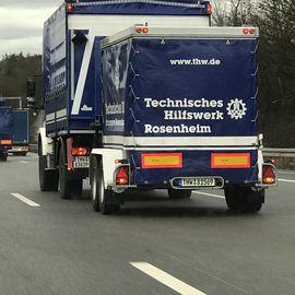 Bild zu Technisches Hilfswerk Bundesanstalt (THW) , - Ortsverband Rosenheim - in Rosenheim in Oberbayern
