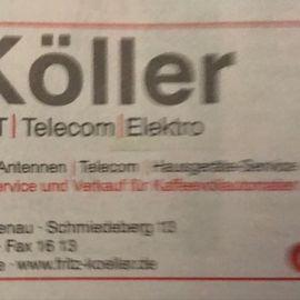 Bild zu Köller Fritz Fernsehen- Video-Meisterbetrieb in Rischenau Stadt Lügde