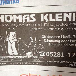 DJ Thomas Klenke in Bad Pyrmont
