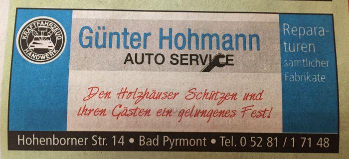 Hohmann Gunter Kfz Werkstatt 1 Bewertung Bad Pyrmont Am Bruche