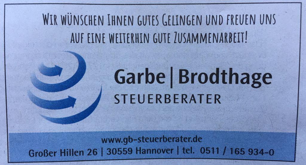 Nutzerfoto 1 Garbe & Brodthage Steuerberatungsgesellschaft mbH Steuerberater