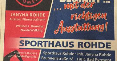 Sporthaus Rohde in Bad Pyrmont