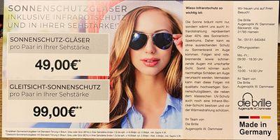 Die Brille W. Dammeier Augenoptik in Hameln
