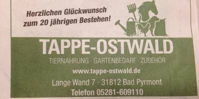 Tappe-Ostwald in Bad Pyrmont