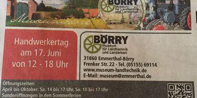 Museum für Landtechnik und Landarbeit in Emmerthal