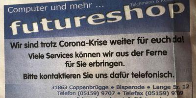 futureshop Teichmann & Reder oHG in Bisperode Gemeinde Coppenbrügge