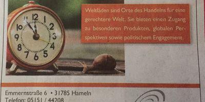 Weltladen Q'ANTATI in Hameln