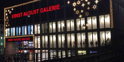 Ernst August Galerie in Hannover