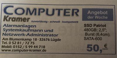 Computer Kramer in Lügde