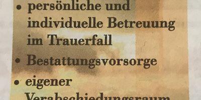 Frede Tischlerei und Bestattungen Inh. Ulrich Frede in Bad Pyrmont