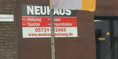 Neuhaus GmbH Heizung Sanitär in Rehme Stadt Bad Oeynhausen