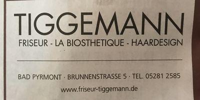 Tiggemann City-Coiffeur in Bad Pyrmont