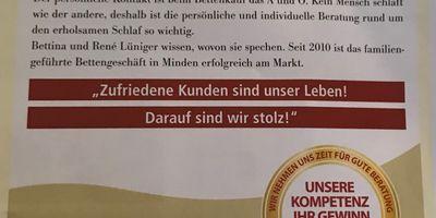 Schlafstudio Lüniger in Minden in Westfalen