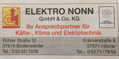Nonn Elektro und Kühlanlagen in Höxter