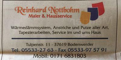 Reinhard Nottbohm in Bodenwerder