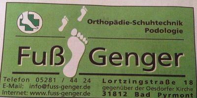 Orthopädie-Schuhtechnik Walter Genger GmbH in Bad Pyrmont