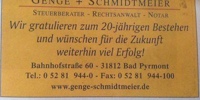 Genge Hans-Uwe Steuerberater in Hagen Stadt Bad Pyrmont