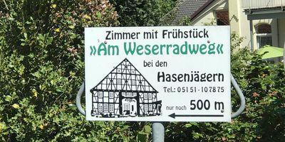 Pension am Weserradweg G. Hasenjäger in Tündern Stadt Hameln