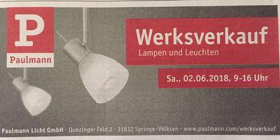 Paulmann Licht GmbH in Springe