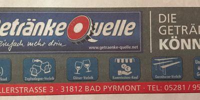 Getränke Quelle in Bad Pyrmont