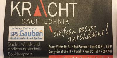 Kracht Dachtechnik in Bad Pyrmont