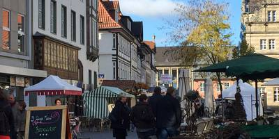 Herbst-Bauernmarkt in Hameln