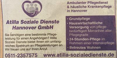 Atilla Soziale Dienste Hannover GmbH in Hannover