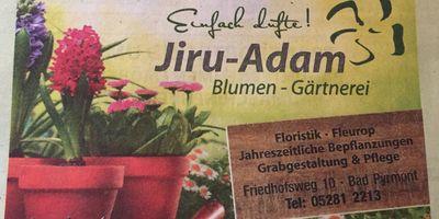 Blumengärtnerei Jiru-Adam Inh. Franz-Josef Mund in Bad Pyrmont