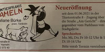 Kleintierpraxis Hameln - Juliane Bürke in Hameln