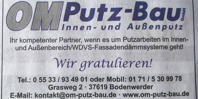 OM Putz-Bau GmbH in Bodenwerder