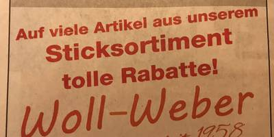 Woll-Weber KG in Hameln
