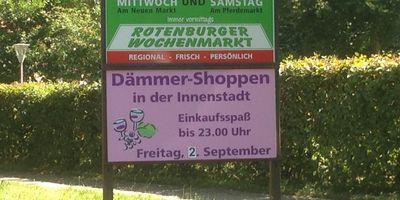 Rotenburger Wochenmarkt in Rotenburg (Wümme)